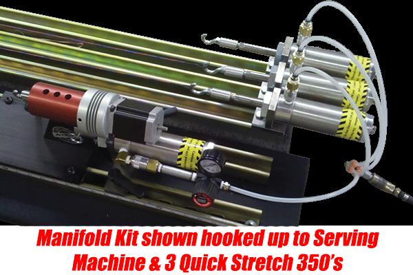 Manifold Kit In Use
