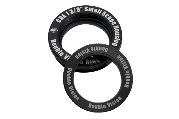 Double Vision Lens Retainer Rings for small CBE Scope