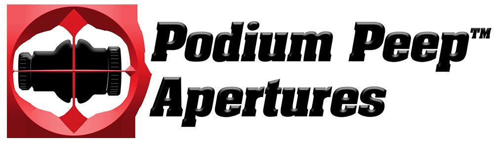 Podium Peep™ Apertures