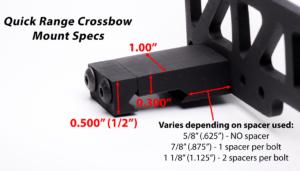 Quick Range Crossbow Mount Specs